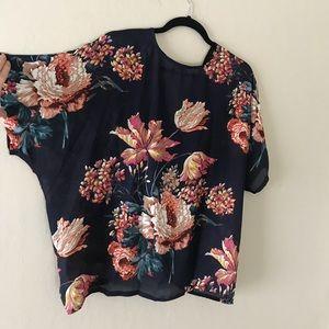 Vici Tops - Kimono Twist Top